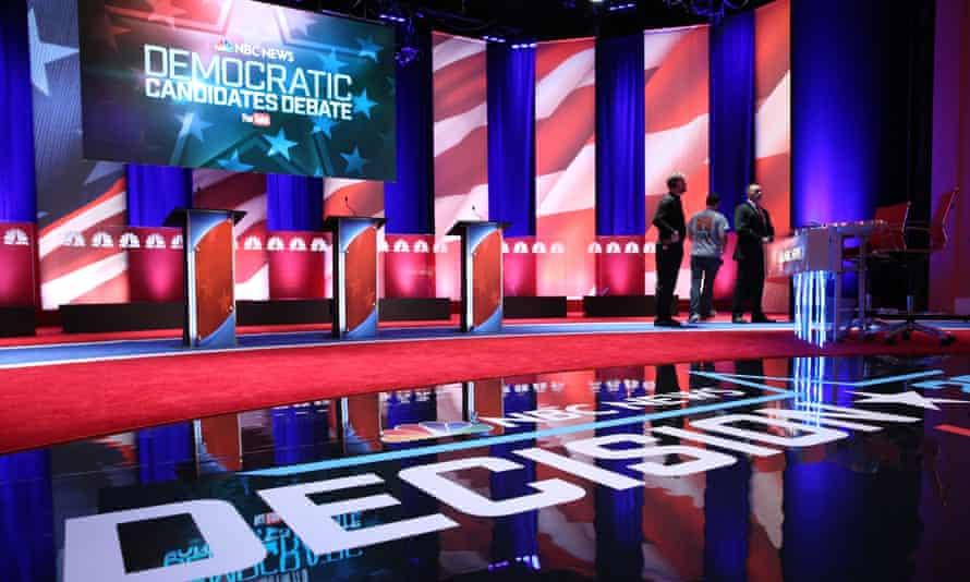 Democratic debate US election 2016 Hillary Clinton Bernie Sanders Martin O'Malley