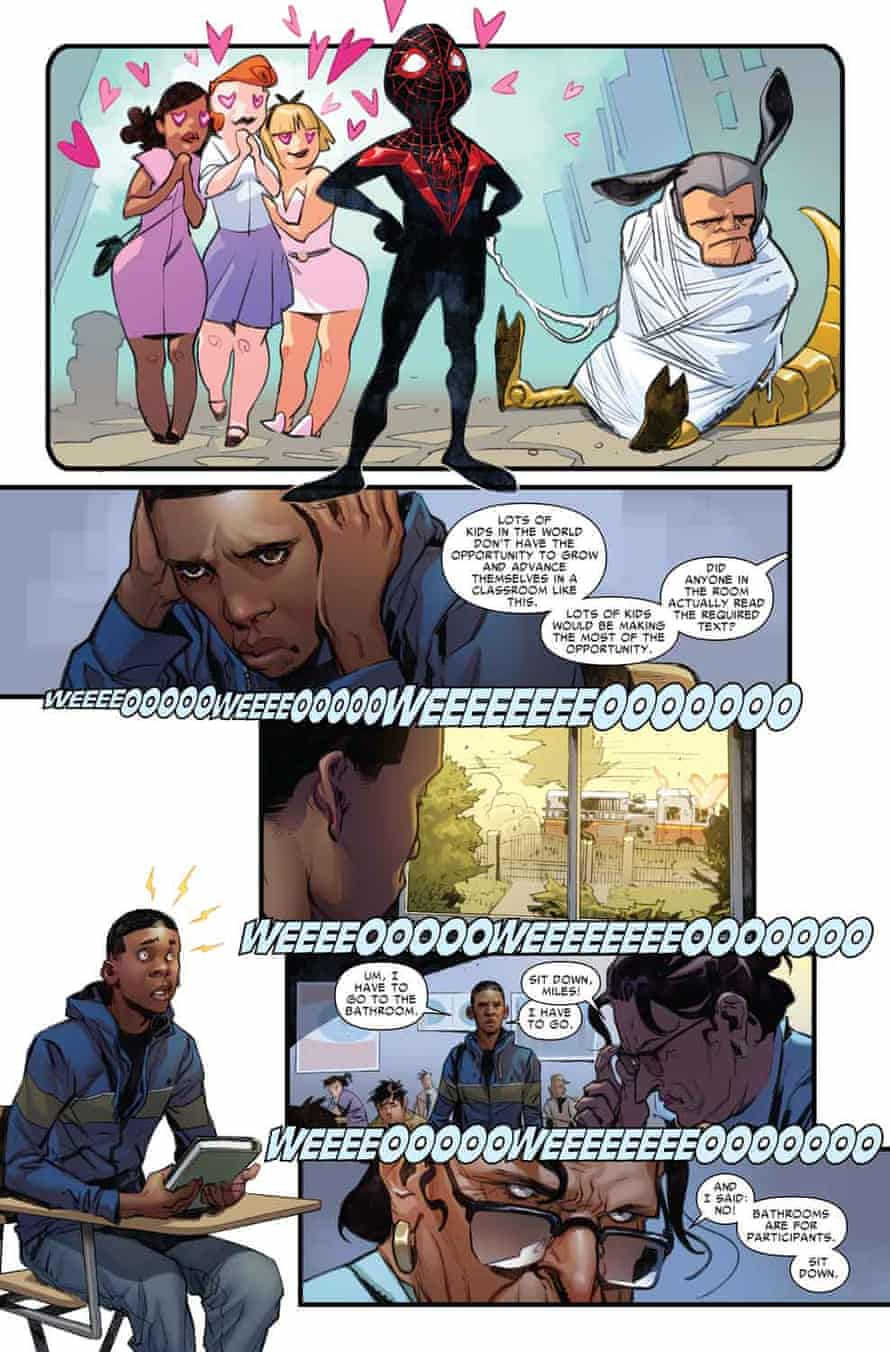 Spider-Man #1's story unfolds…