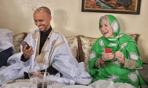 Mohamedou Ould Salahi with his lawyer Nancy Hollander days after he was released from Guantánamo in October 2016