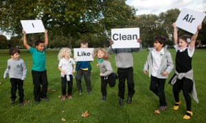 Children's lung health is particularly vulnerable to air pollution but they are not being protected, campaigners warn.