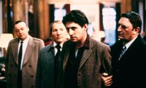 Arresting: Gabriel Byrne in Defence of the Realm.