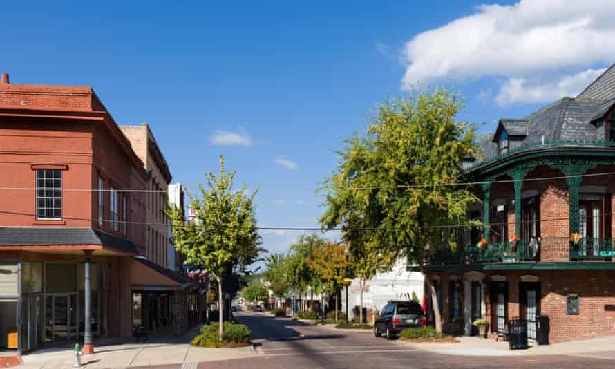 Washington Street in Vicksburg, Mississippi, where Byrd was last seen alive.
