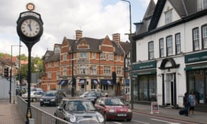 Purley town centre