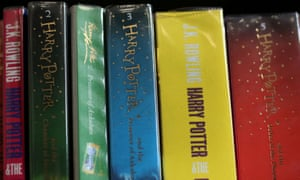 Books from the Harry Potter series