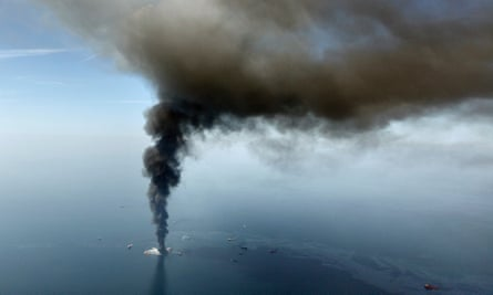 The Deepwater Horizon disaster in 2010 leaked 215m gallons of crude oil into the Gulf of Mexico.
