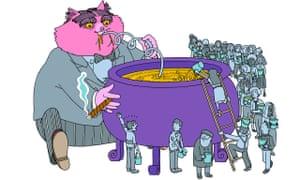 web JIM STOTEN for MONEY 160618 fat cat where our money goes