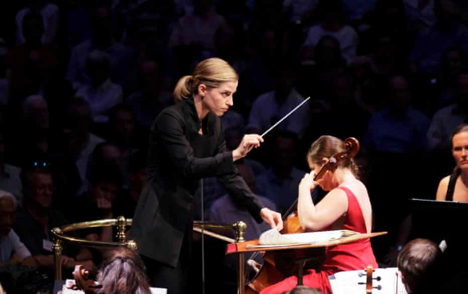 Karina Canellakis conducts the BBC Symphony Orchestra, with soloist Alisa Weilerstein, in Prom 12.
