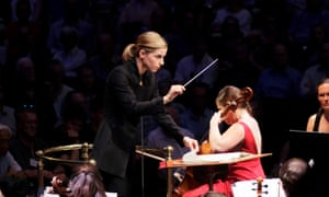 Karina Cannellakis conducts the BBC Symphony Orchestra in Shostakovich's Cello Concerto performed by Alisa Weilerstein,  at the BBC Proms 2018.