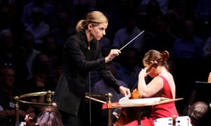 Karina Cannellakis conducts the BBC Symphony Orchestra in Shostakovich's Cello Concerto performed by Alisa Weilerstein, as part of the BBC Proms 2018, at the Royal Albert Hall.