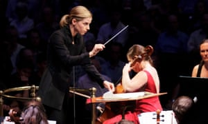Karina Cannellakis conducts the BBC Symphony Orchestra in Shostakovich's Cello Concerto performed by Alisa Weilerstein, as part of last year's BBC Proms at the Royal Albert Hall