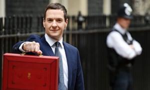 George Osborne announces his budget to Parliament