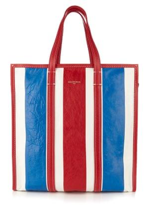 The oversize Balenciaga shopping bag.