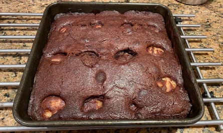 Nigella Lawson chocolate and pear pudding