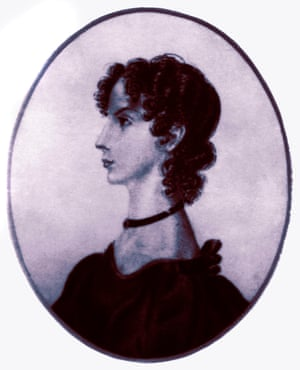 Anne Brontë painted by her sister, Charlotte.