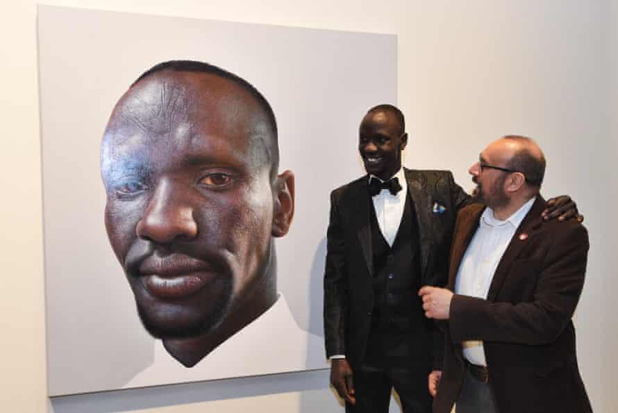 Deng Adut and Nick Stathopoulos