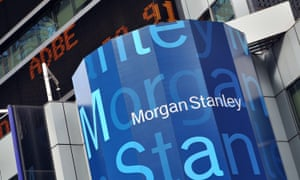 A slew of Morgan Stanley executives made big profits by buying and selling their share options on Friday.
