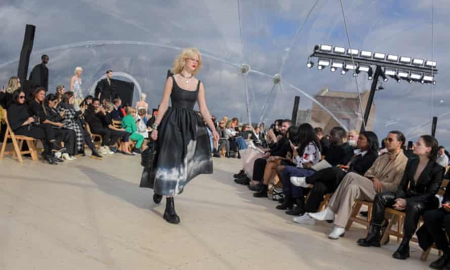 Alexander McQueen catwalk show