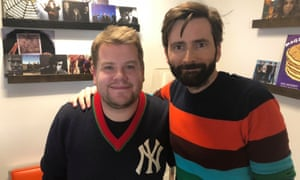David Tennant Does a Podcast With … James Corden.