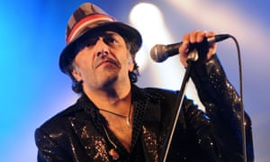 Rachid Taha performing at the Rio Loco festival in Toulouse, France, 2009.