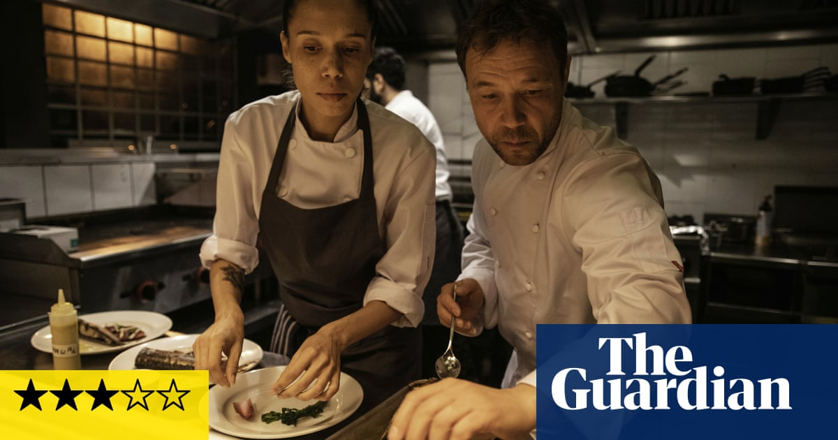 Boiling Point review – Stephen Graham bubbles in one-shot restaurant drama