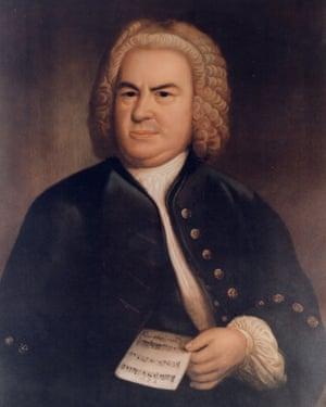 Elias Gottlieb Haussmann's 1746 portrait of JS Bach.