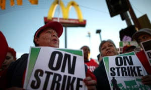The fast food industry has one of the widest pay disparities between CEO and worker.