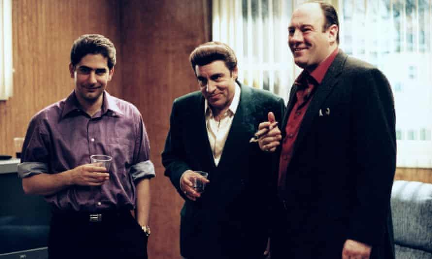 Michael Ierioli, Steven Van Zandt and James Gandolfini in The Sopranos.