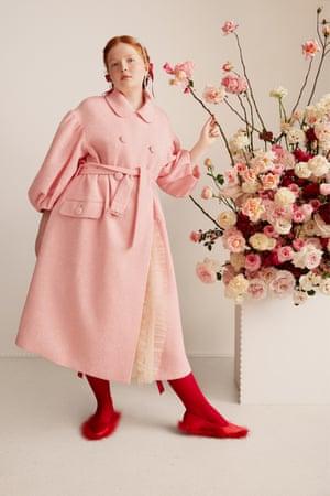 Simone Rocha x H&M launches online only 11 March, hm.com Coat, £149.99, socks, £24.99, shoes, £139.99.