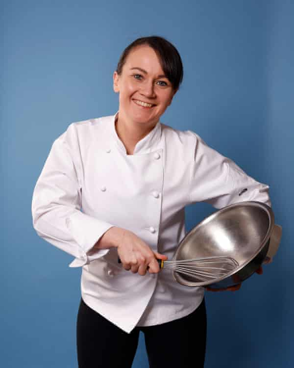 Lorna McNee: 'I hope my kitchen team will be happy and strong.'
