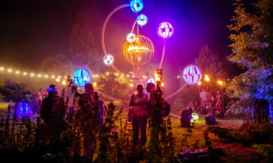 Climate crisis panels and expert talks are held at the BlueDot festival at Jodrell Bank observatory in Manchester.