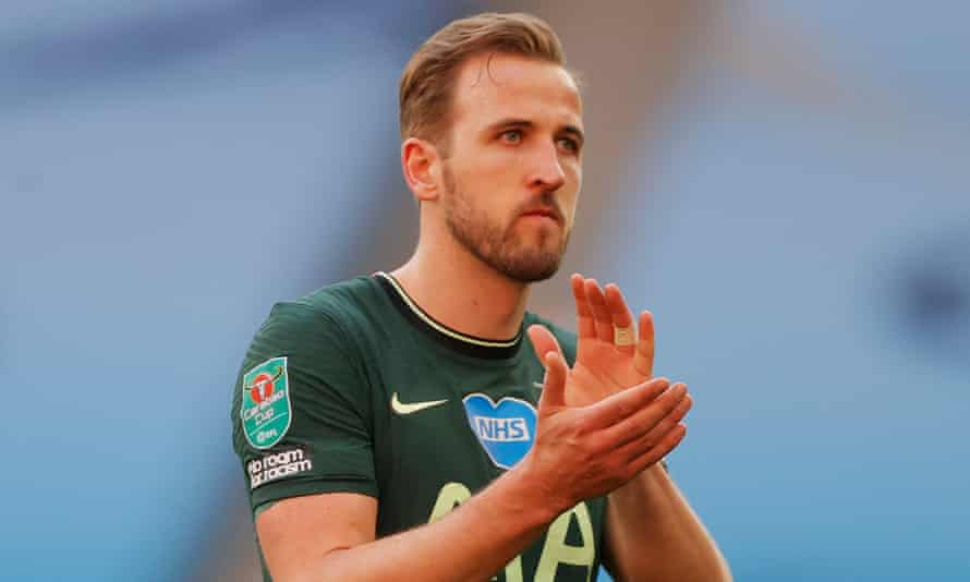 Harry Kane after Tottenham's defeat by Manchester City in the Carabao Cup final last Sunday.