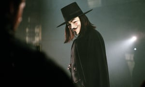 Hugo Weaving plays V in V for Vendetta
