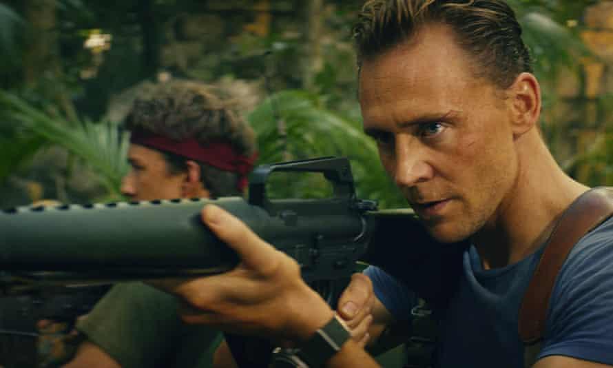Tom Hiddleston in Kong: Skull Island.