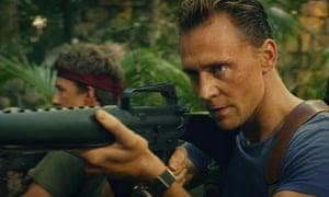 Tom Hiddleston in Kong: Skull Island