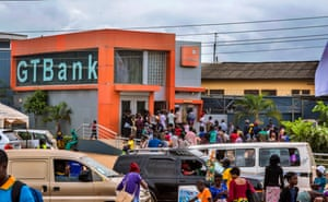 One of the Nigerian commercial banks operating in the camp