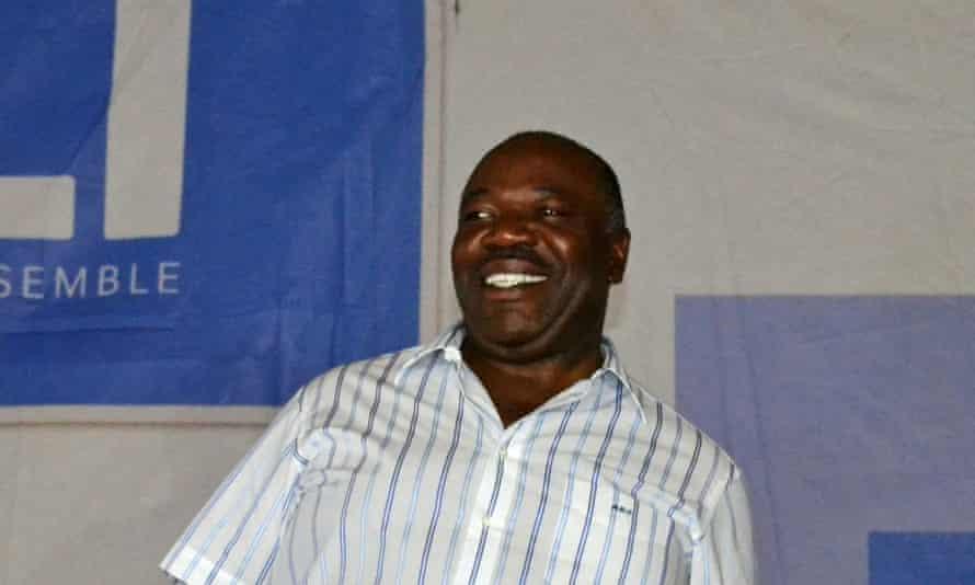Gabon's incumbent president Ali Bongo.