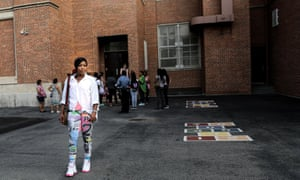 Shakira Crawford and Family for a feature on homelessness in NYC