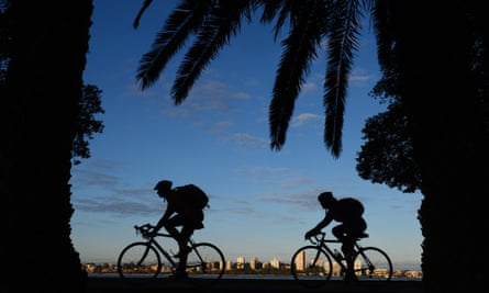The latest Australian Bureau of Statistics data shows that 1.15m people regularly cycle in Australia, about 6.2% of the population.