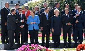 Boyko Borisov and other EU leaders