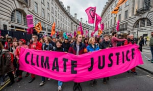 Extinction Rebellion protest, London, UK - 22 Feb 2020<br>Mandatory Credit: Photo by Guy Bell/REX/Shutterstock (10564174a) 'Enough is enough - Together we march' XR Extinction Rebellion march Extinction Rebellion protest, London, UK - 22 Feb 2020 Protest and rally to highlight the climate emergency and against the police clamping down on peaceful marchers.