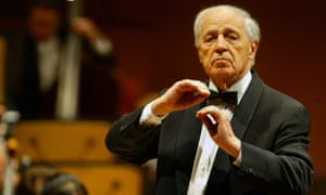 Boulez, the 'charming but demanding eminence grise of the classical music world'.