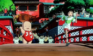 Spirited Away, one of the films covered on new Studio Ghibli podcast Ghibliotheque.