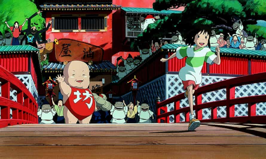 Classic old-school, Spirited Away.