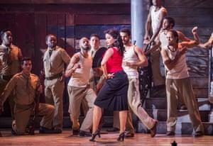 Luna Manzanares Nardo in Christopher Renshaw's Carmen La Cubana.