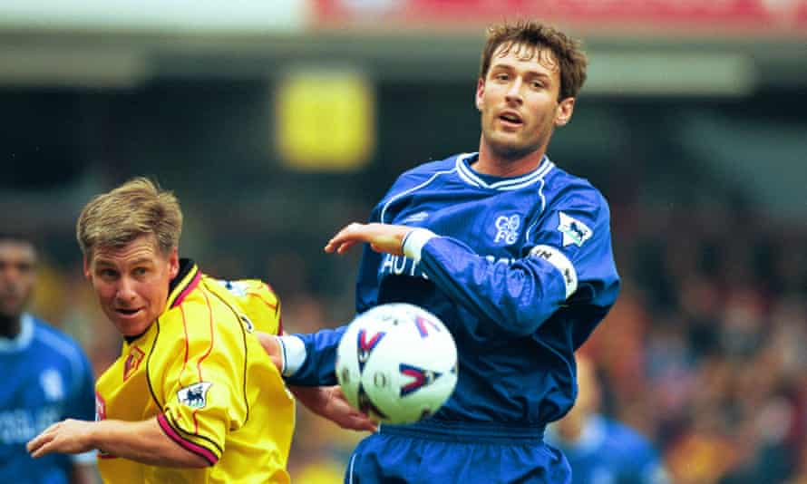 Nigel Gibbs, left, made more than 400 appearances for Watford.