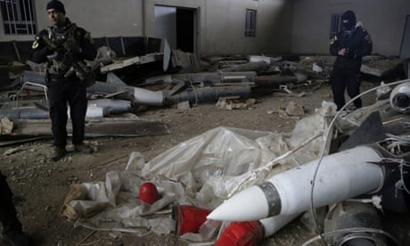 Chemical weapons found in Mosul in Isis lab, say Iraqi forces