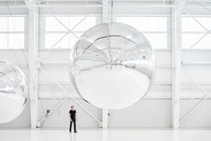 Prototype for a Nonfunctional Satellite, 2013, by Trevor Paglen