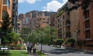 The upmarket neighbourhood of El Retiro.