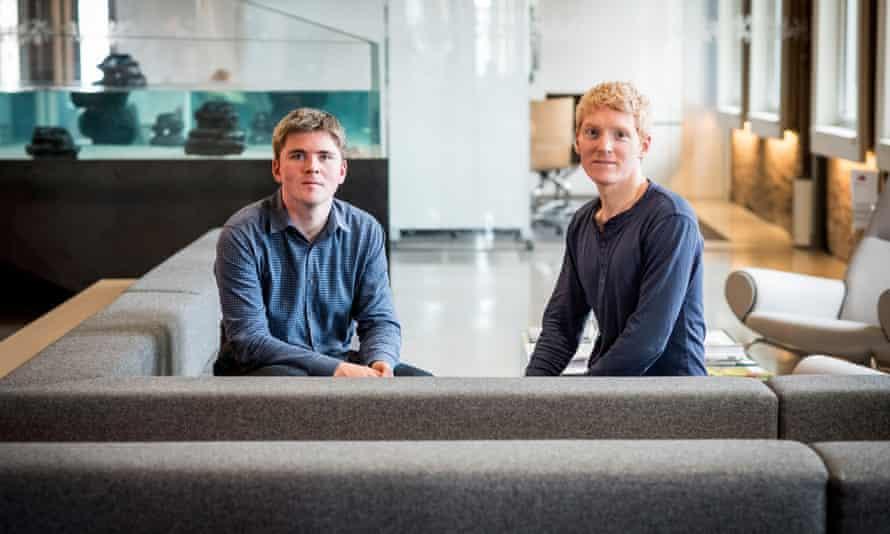Stripe co-founders John Collison And Patrick Collison.