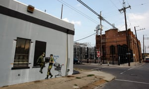 Banksy Graffiti Murals Pop Up Around New Orleans